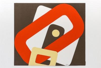 Esplorazione di cerchio e quadrato, 1969-72, collage on paper, cm 50 x 57,5, photo: Danilo Donzelli