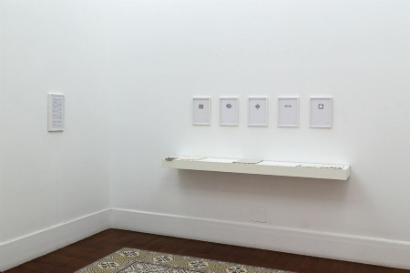 Enigma di fondo, 2018, exhibition view, photo: Danilo Donzelli