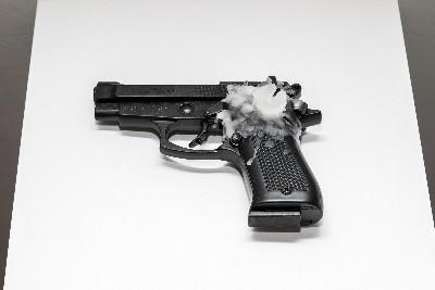 2004 - 2019, pistola a salve 8mm, candela / 8mm blank gun, candle cm 13 x 18