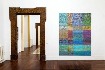 Simona Weller, La pittura è facile e difficile come l'amore, exhibition view, ph. Danilo Donzelli