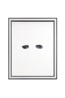 Untitled, 2017, mirror, photograph, cm 29,4 x 23,4, photo: Danilo Donzelli