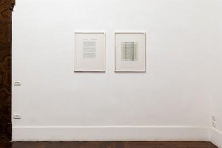 Betty Danon, Enigma di fondo, 2018, exhibition view