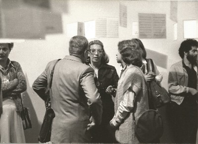 Io & gli Altri, installation view at galleria Apollinaire, Milano, 1979, ph. Maria Mulas