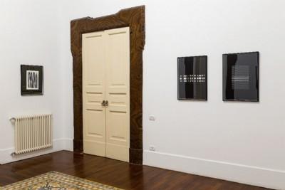 Betty Danon, Geometrie anni Settanta: tra logico e poetico, programmato e casuale, 2017, exhibition view