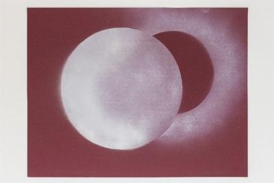 Dimensione cerchio, 1970, spray on paper, cm 50 x 65, photo: Danilo Donzelli