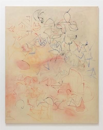 Voices, 1985, painting on canvas, cm 173 x 137,5, photo: Danilo Donzelli