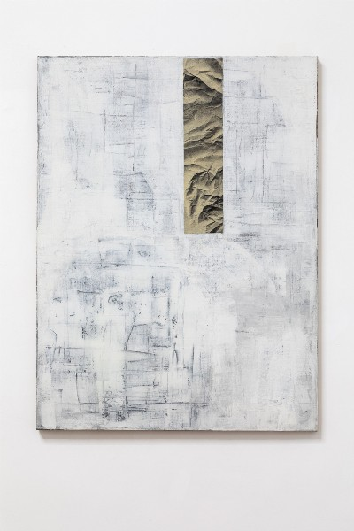 Stanislao Di Giugno, To be titled #1 , 2014, mixed media on linen, cm 120 x 90