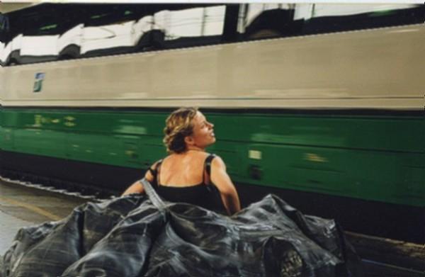 Daniela ha perso il treno, 1999, video, colour, sound, duration: 1'30'', ed. 2/3, 3/3 + 1 AP