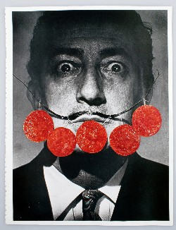 Untitled, 2013, collage on paper, cm 29,7 x 21