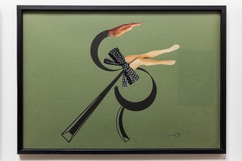 Ritratto analogico (di Rocco Santoro), 1972, collage and felt pen on paper, cm 50 x 70, photo: Danilo Donzelli