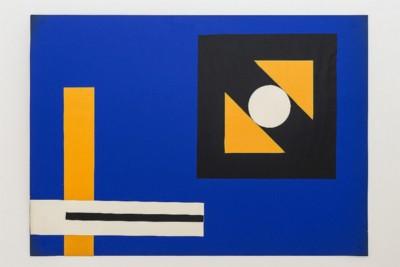 Esplorazione di cerchio e quadrato, 1969-72, collage on paper, cm 50 x 70, photo: Danilo Donzelli
