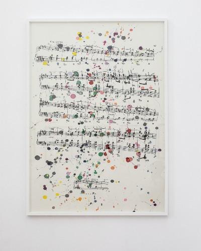 Maxime Rossi, Père-Lachaise Vol. II, 2019, felt pen on Thai paper, cm 140 x 100 (unframed) cm 145 x 104 (framed)