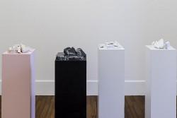 General Semantics (Il naufragio della speranza), 2015, marble, wood, varnish, dimensions variable, photo: Sebastiano Luciano
