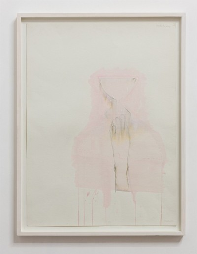 Untitled, 1982, watercolour and ink on paper, cm 76 x 56 (sheet); cm 82,5 x 62,5 (framed), photo: Danilo Donzelli