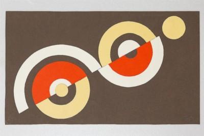 Dimensione cerchio, 1969-72, collage on paper, cm 30 x 50, photo: Danilo Donzelli