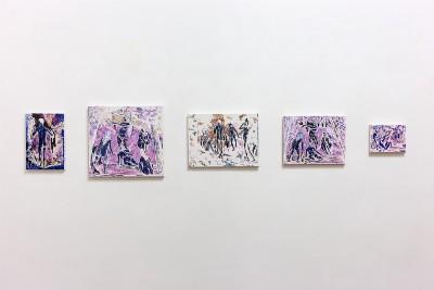 Parabasi, a cura di Francesca Lacatena, 2020, exhibition view, photo: Danilo Donzelli